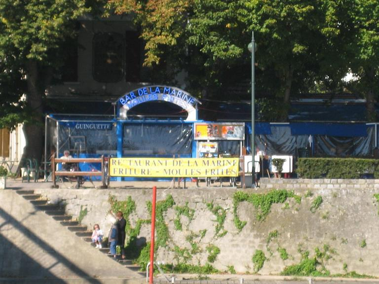 Guinguette Restaurant Marine Chez Fifi