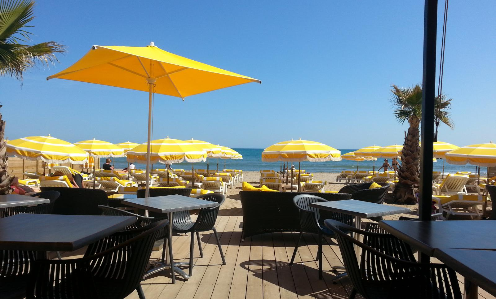 Oasis plage plage priv e valras plage 34350 valras plage - Office de tourisme de valras plage ...