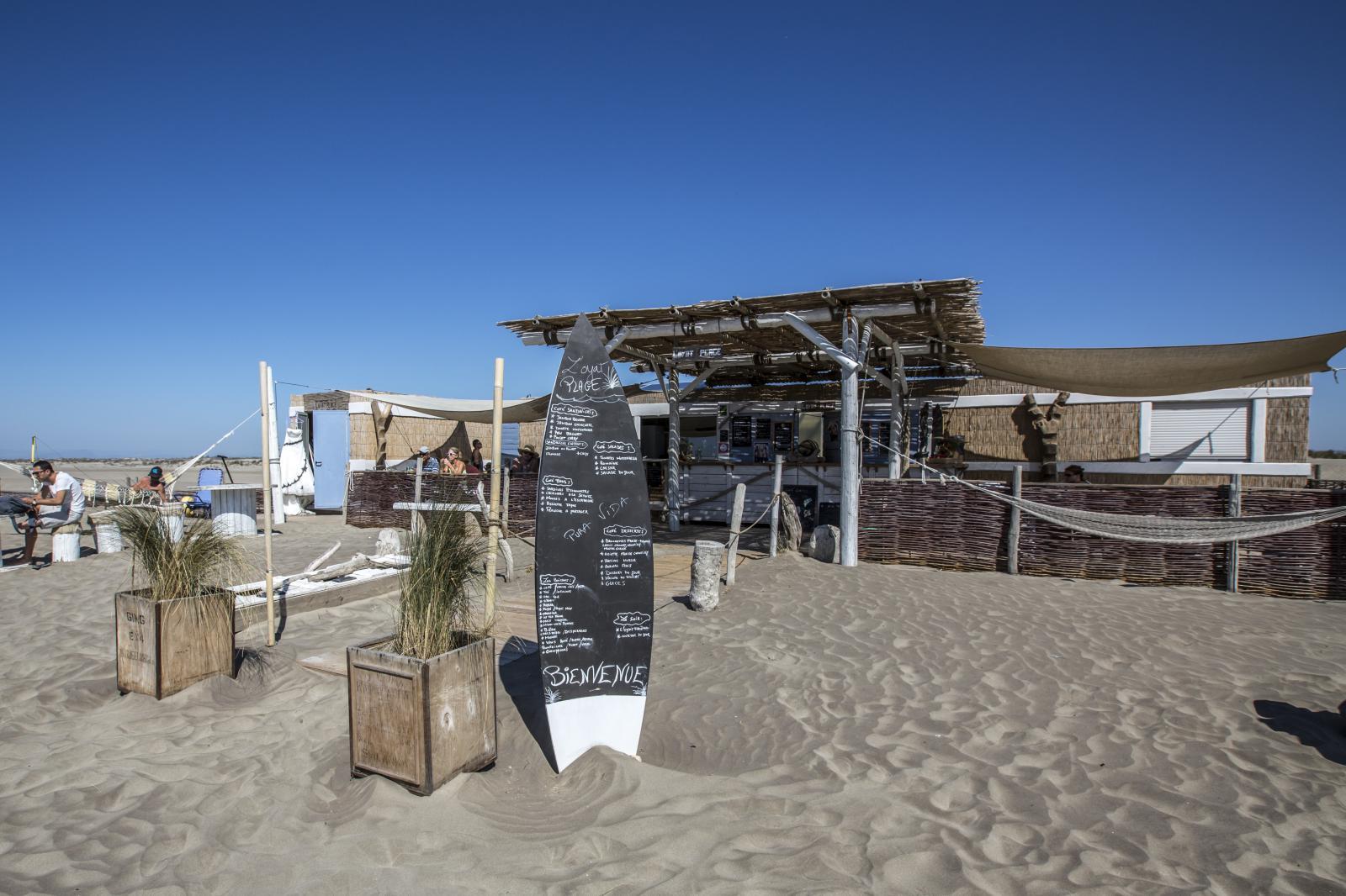 l 39 oyat eco plage plage priv e l 39 espiguette l 39 espiguette. Black Bedroom Furniture Sets. Home Design Ideas