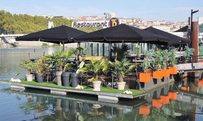 P niche restaurant le 15 guinguette lyon 69006 lyon for Restaurant terrasse lyon